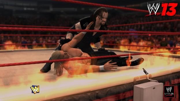 WWE 13 Screenshot #19 for PS3