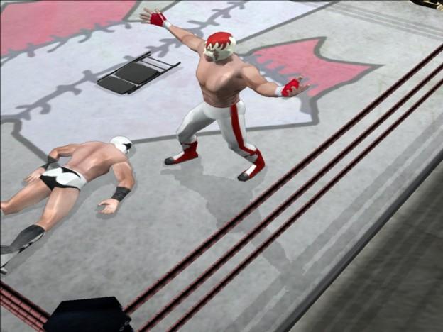 Pro Wrestling X: Uprising Screenshot #1 for PC