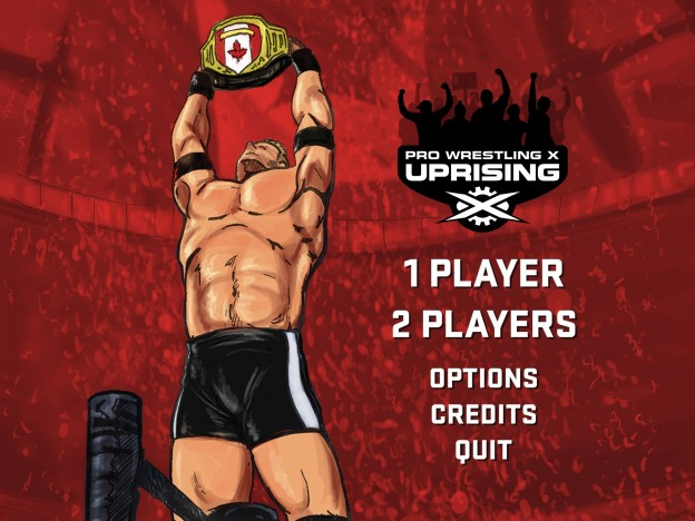 Pro Wrestling X: Uprising Screenshot #2 for PC