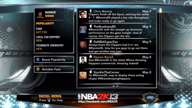 NBA 2K13 Screenshot #75 for Xbox 360