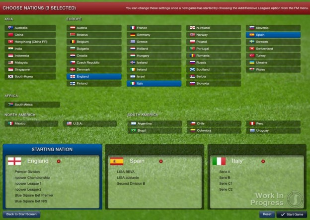 Football Manager 2013 Screenshot #1 for PC
