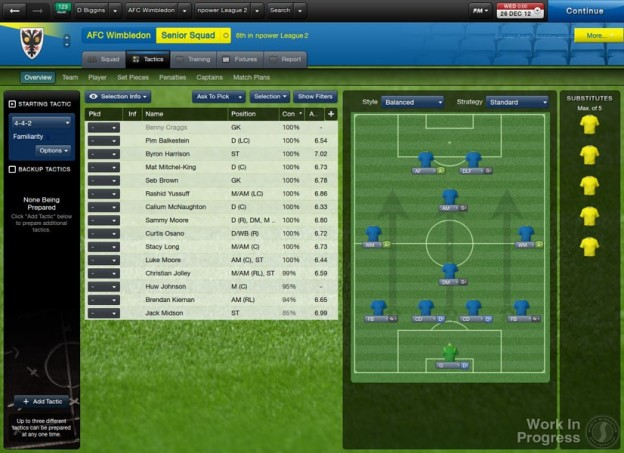 Football Manager 2013 Screenshot #2 for PC