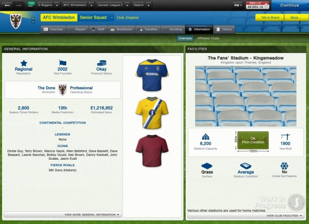 Football Manager 2013 Screenshot #9 for PC