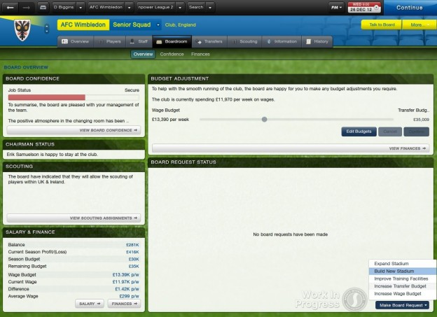 Football Manager 2013 Screenshot #10 for PC