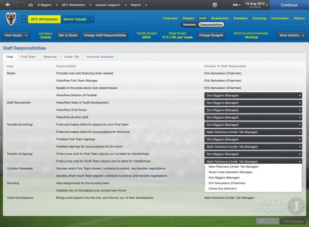 Football Manager 2013 Screenshot #13 for PC