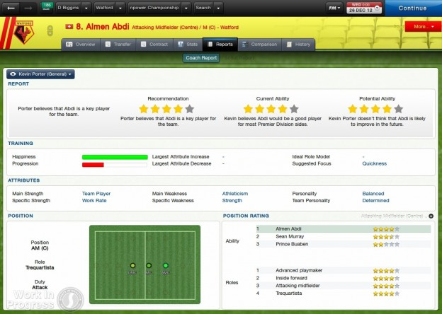 Football Manager 2013 Screenshot #18 for PC