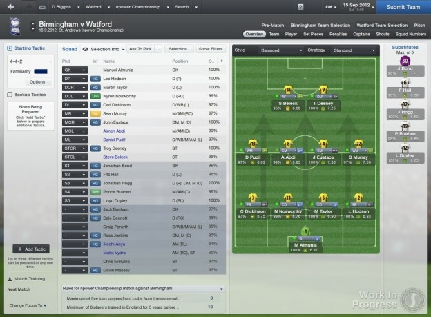 Football Manager 2013 Screenshot #23 for PC