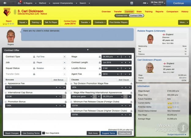 Football Manager 2013 Screenshot #25 for PC