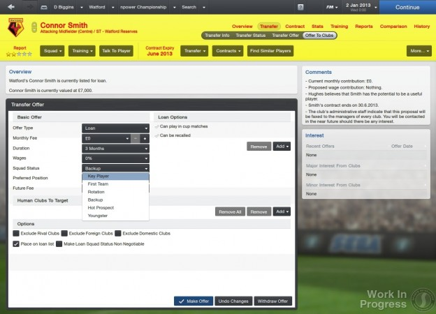 Football Manager 2013 Screenshot #26 for PC