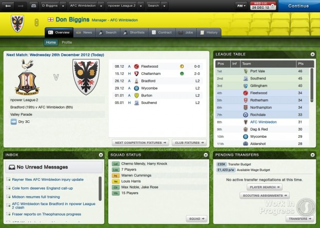 Football Manager 2013 Screenshot #34 for PC