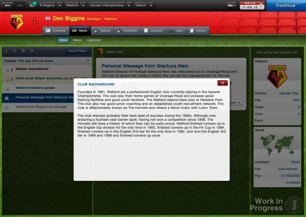 Football Manager 2013 Screenshot #35 for PC