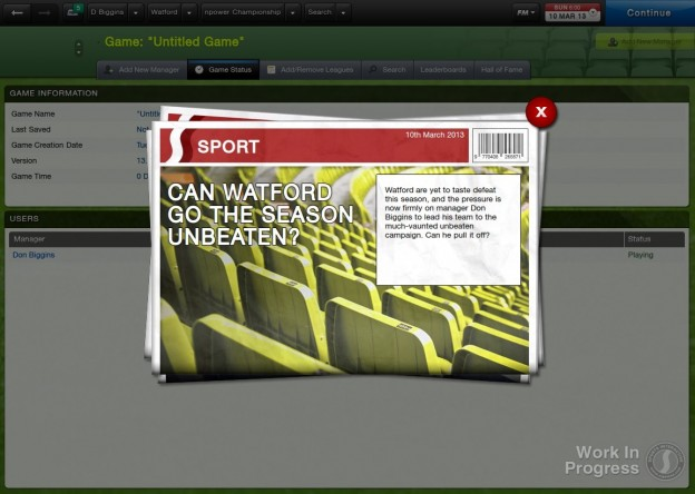 Football Manager 2013 Screenshot #50 for PC