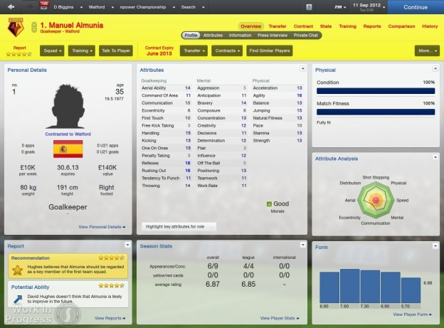 Football Manager 2013 Screenshot #56 for PC