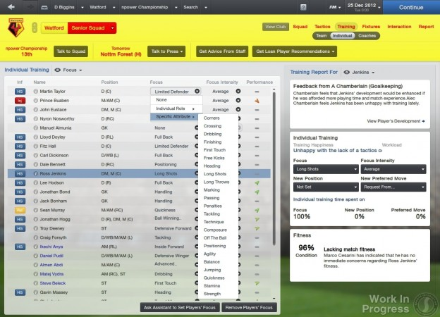 Football Manager 2013 Screenshot #69 for PC