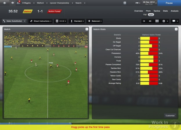 Football Manager 2013 Screenshot #79 for PC