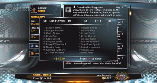 NBA 2K13 Screenshot #120 for Xbox 360