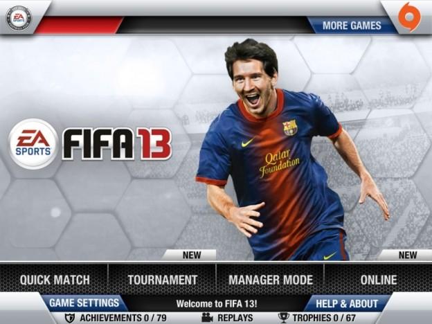 FIFA Soccer 13 Screenshot #7 for iOS