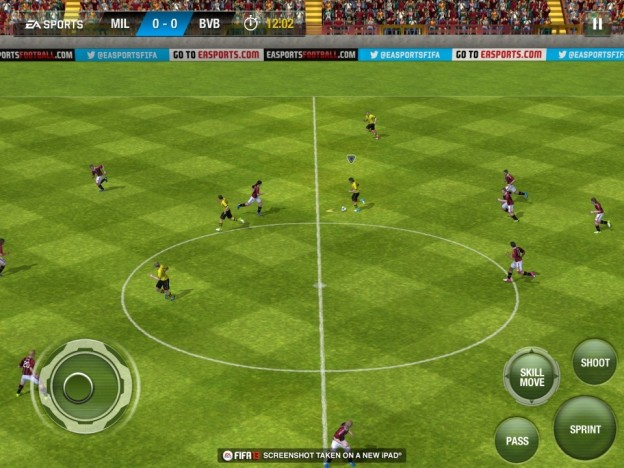 FIFA Soccer 13 Screenshot #14 for iOS