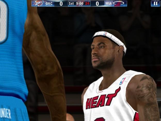 NBA 2K13 Screenshot #1 for iOS