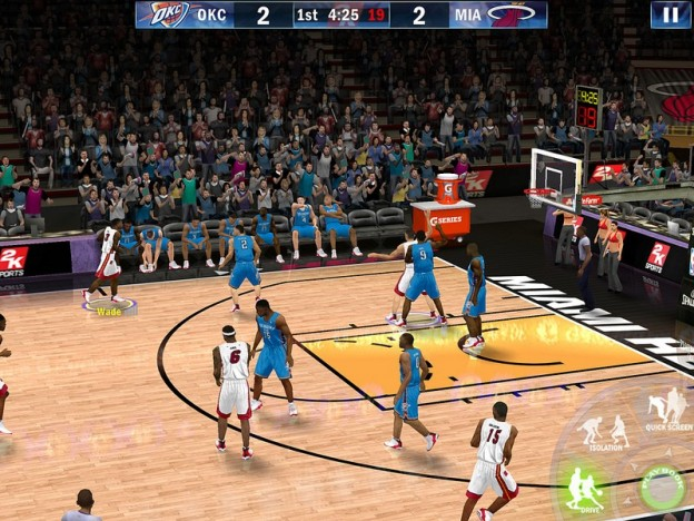 NBA 2K13 Screenshot #2 for iOS