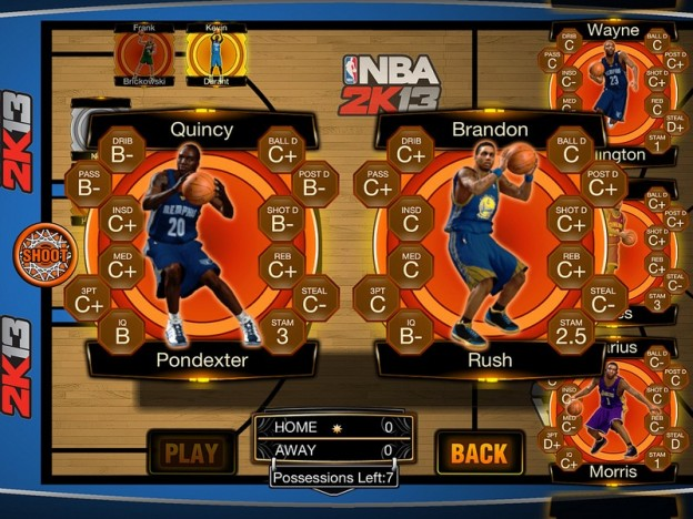 NBA 2K13 Screenshot #4 for iOS