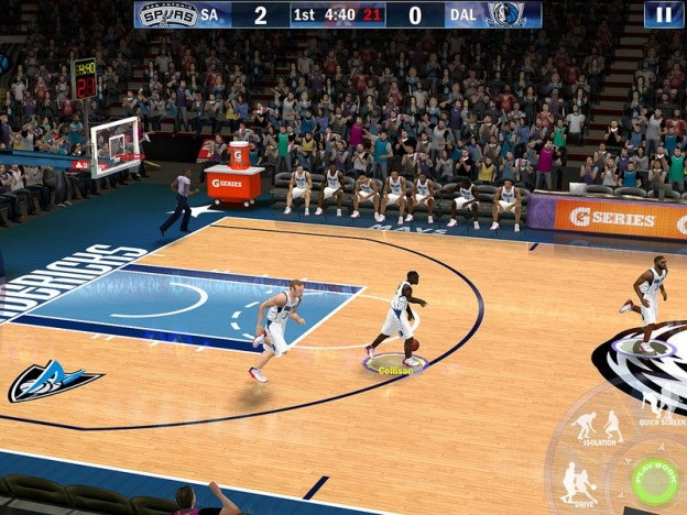 NBA 2K13 Screenshot #7 for iOS