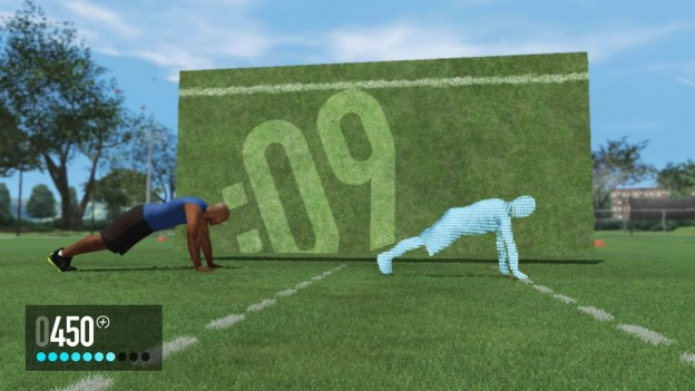 NIKE+ Kinect Training Screenshot #1 for Xbox 360
