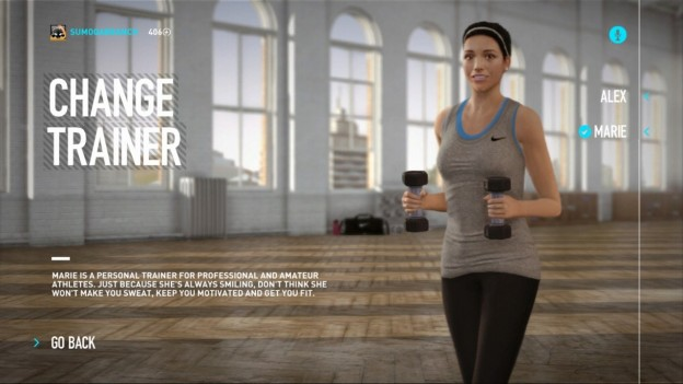 NIKE+ Kinect Training Screenshot #17 for Xbox 360