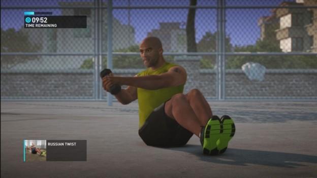 NIKE+ Kinect Training Screenshot #21 for Xbox 360