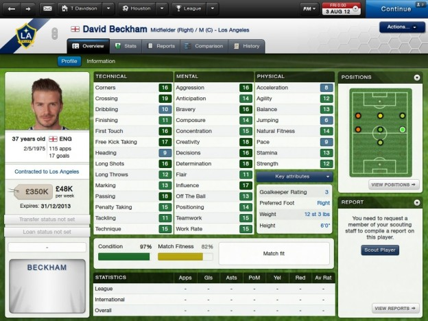 Football Manager 2013 Screenshot #81 for PC