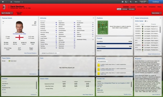 Football Manager 2013 Screenshot #88 for PC