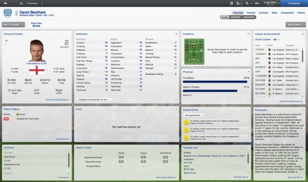 Football Manager 2013 Screenshot #91 for PC