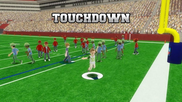 Avatar Football Screenshot #1 for Xbox 360