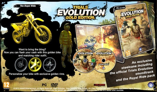 Trials Evolution: Gold Edition Screenshot #1 for PC