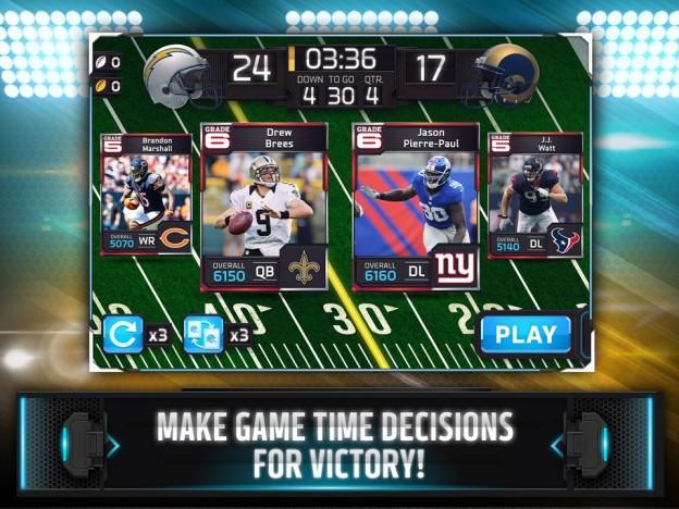 NFL Shuffle Screenshot #1 for iOS