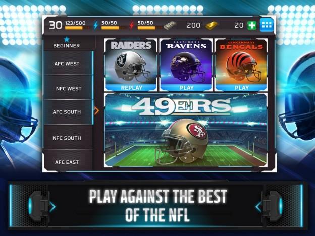 NFL Shuffle Screenshot #3 for iOS