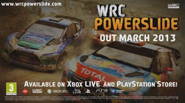 WRC Powerslide Screenshot #1 for Xbox 360