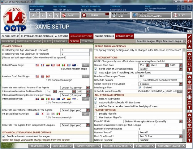 Out of the Park Baseball 14 Screenshot #4 for Mac