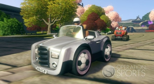 Sonic & All-Stars Racing Transformed Screenshot #2 for Xbox 360, PS3