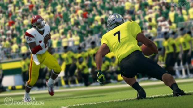 NCAA Football 14 Screenshot #1 for PS3