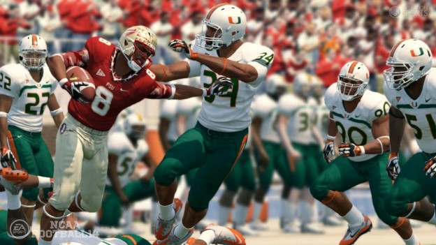 NCAA Football 14 Screenshot #2 for PS3