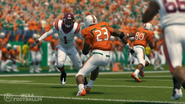 NCAA Football 14 Screenshot #3 for PS3