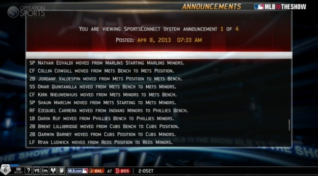 MLB 13 The Show Screenshot #495 for PS3