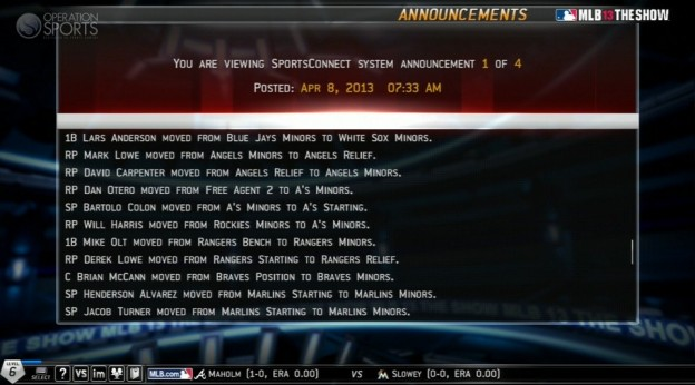MLB 13 The Show Screenshot #496 for PS3