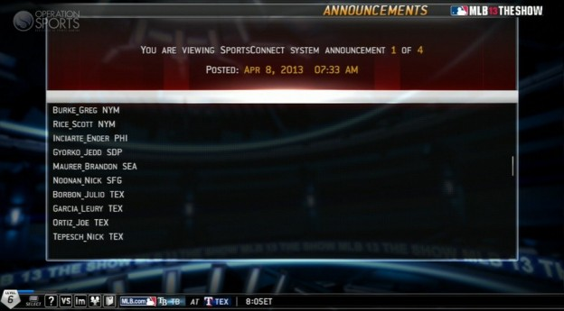MLB 13 The Show Screenshot #498 for PS3