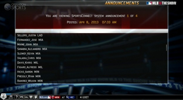 MLB 13 The Show Screenshot #499 for PS3