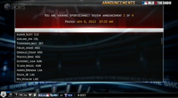 MLB 13 The Show Screenshot #500 for PS3