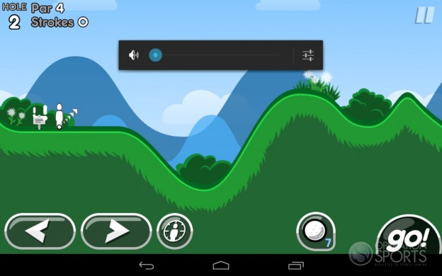 Super Stickman Golf 2 Screenshot #1 for Android