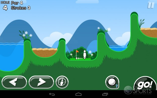Super Stickman Golf 2 Screenshot #3 for Android