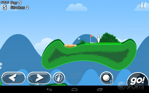 Super Stickman Golf 2 Screenshot #4 for Android